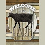 Framed Welcome To The Farm