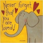 Never Forget that you are loved