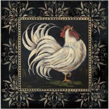 Balck & White Rooster I