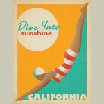 Dive Into Sunshine Canvas