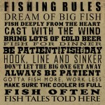 Message Board Fishing Rules