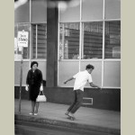 Skateboarding 1965 Canvas